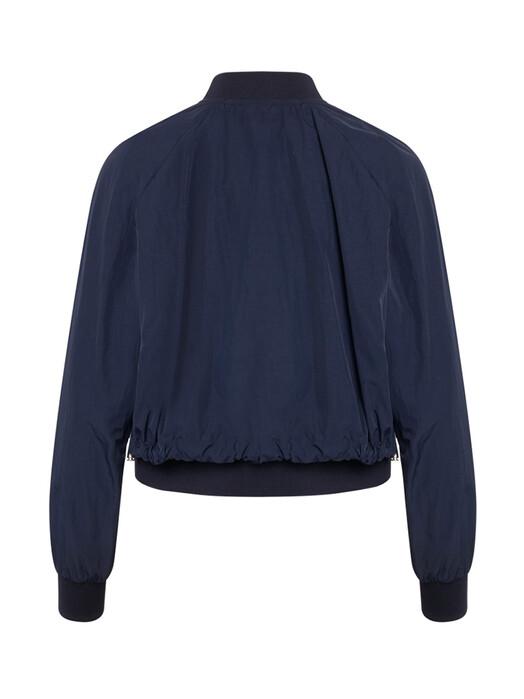 Knowledge Cotton Apparel  Jacken & Mäntel  Dalia Short Bomber Jacket [total eclipse]  jetzt im Onlineshop von zündstoff bestellen