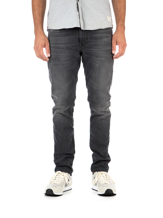 nudie Jeans Jeans Lean Dean [mono grey] jetzt im Onlineshop von zündstoff bestellen