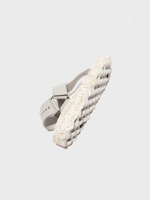Asportuguesas Schuhe  Sandals Fizz [grey/white] jetzt im Onlineshop von zündstoff bestellen