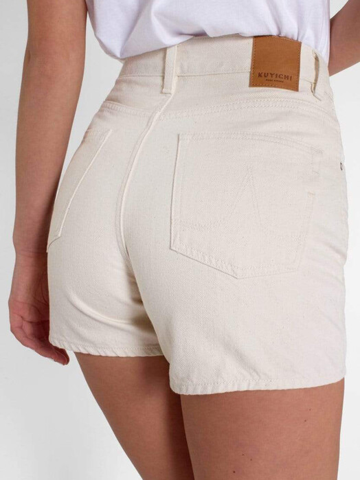 Kuyichi  Shorts Demi [off white] jetzt im Onlineshop von zündstoff bestellen