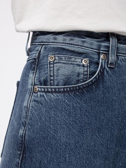 nudie Jeans Jeans Clean Eileen [pure navy] jetzt im Onlineshop von zündstoff bestellen