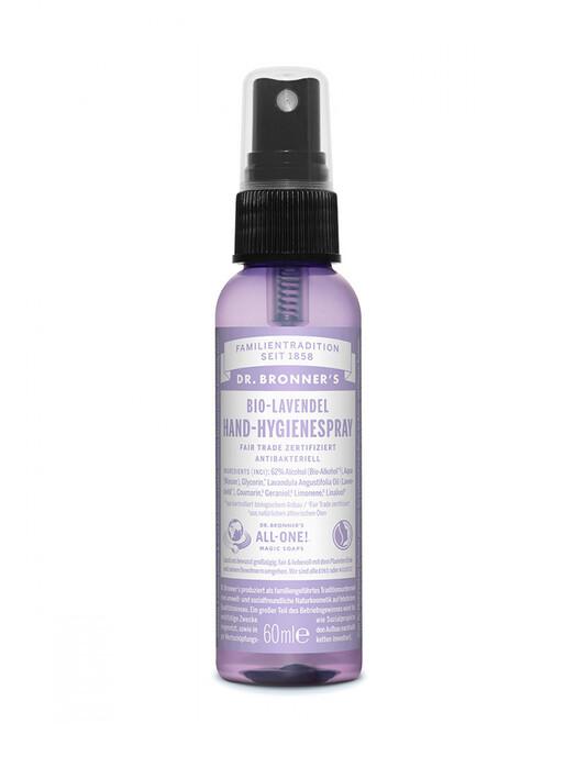 Dr. Bronner's Kosmetik Hand-Hygienespray Lavendel One Size jetzt im Onlineshop von zündstoff bestellen