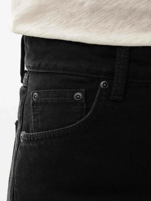 nudie Jeans Jeans Lofty Lo [black soul] jetzt im Onlineshop von zündstoff bestellen