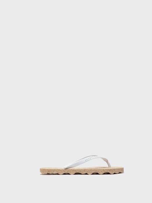 Asportuguesas Schuhe  Base Flip Flop [brown/white] jetzt im Onlineshop von zündstoff bestellen