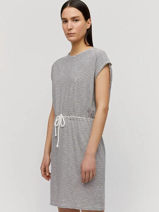 ARMEDANGELS Kleider Laaiko Pretty Stripes [night sky-off white] jetzt im Onlineshop von zündstoff bestellen