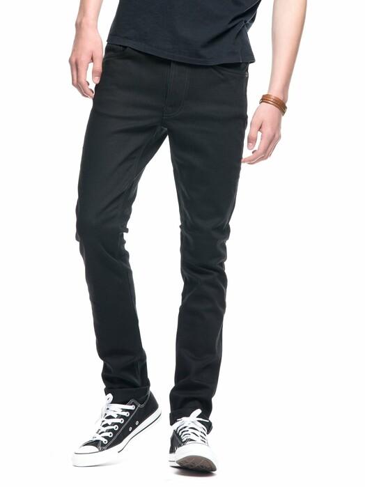 nudie Jeans Jeans Lean Dean [dry ever black] jetzt im Onlineshop von zündstoff bestellen