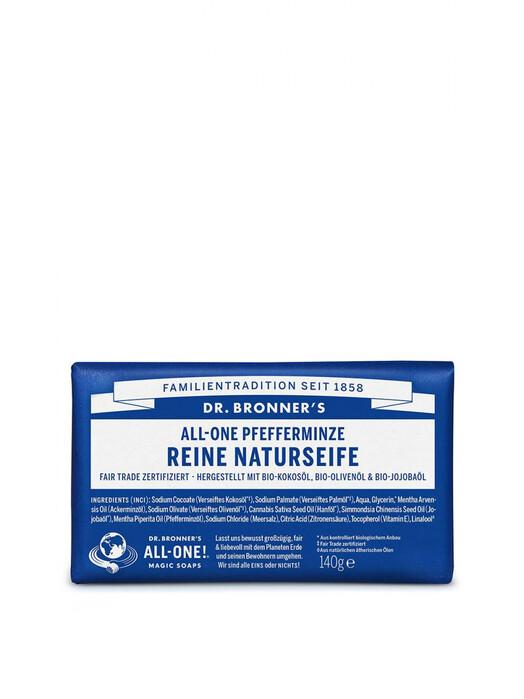 Dr. Bronner's Kosmetik Barsoap Pfefferminz jetzt im Onlineshop von zündstoff bestellen