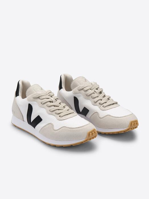 Veja Schuhe SDU Alveomesh [white black natural] jetzt im Onlineshop von zündstoff bestellen