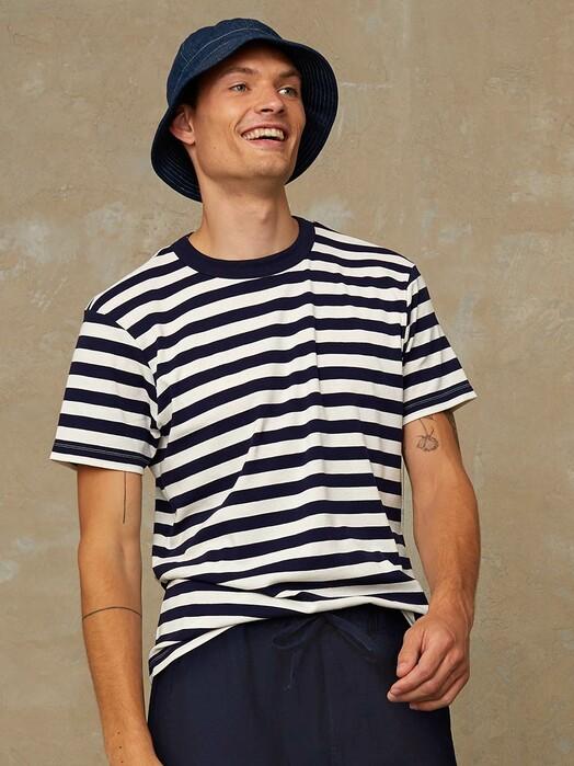K.O.I. Jeans T-Shirts Darius [stripe navy] jetzt im Onlineshop von zündstoff bestellen
