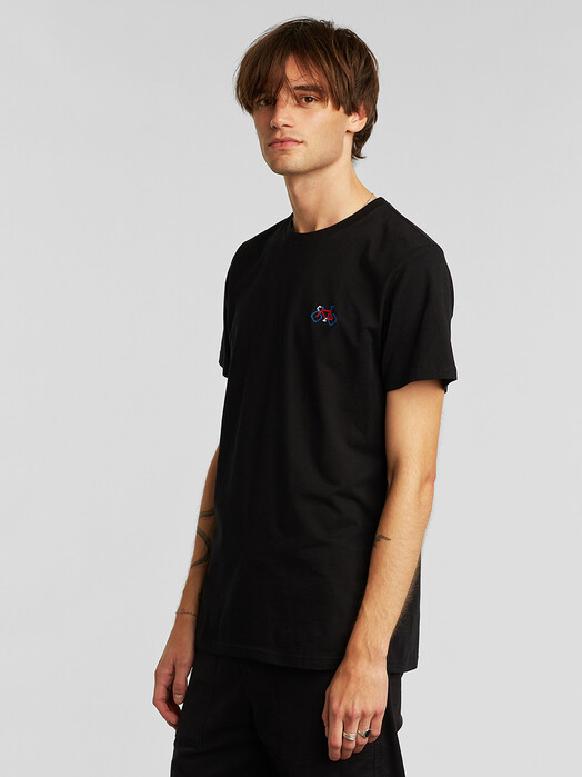 Dedicated T-Shirts Stockholm Stitch Bike [black] L jetzt im Onlineshop von zündstoff bestellen