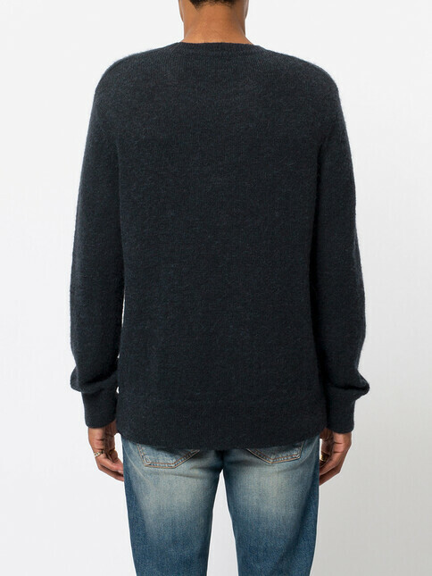 nudie Jeans Hampus Solid Sweater [black]