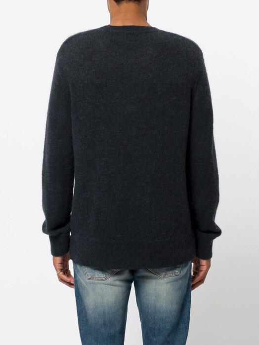 nudie Jeans Strickpullover Hampus Solid Sweater [black] jetzt im Onlineshop von zündstoff bestellen