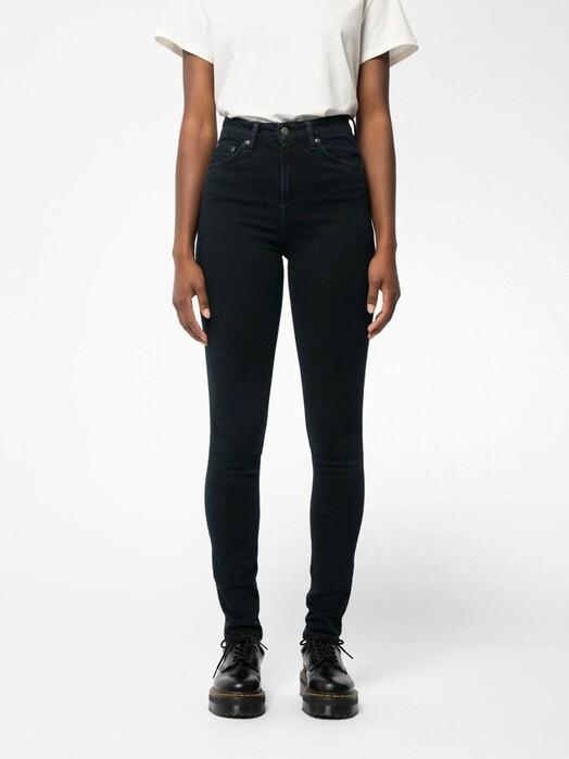 nudie Jeans Jeans Hightop Tilde [monochrome] jetzt im Onlineshop von zündstoff bestellen