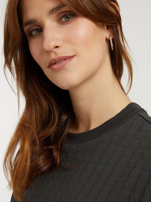 ThokkThokk  Kleider Boxy Shirt Dress [dark shadow check] jetzt im Onlineshop von zündstoff bestellen