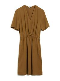 Armedangels Airaa Organic Dress in Golden Khaki