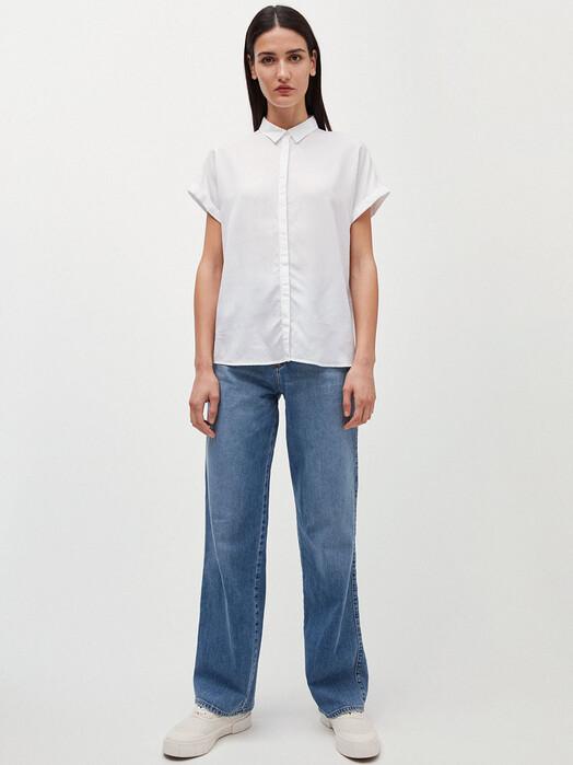 ARMEDANGELS Blusen Zonjaa [white] XL jetzt im Onlineshop von zündstoff bestellen