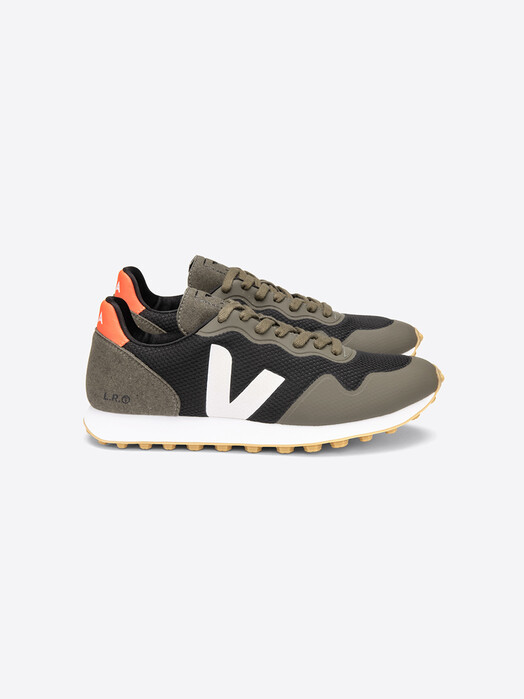 Veja Schuhe SDU RT Alveomesh [black white kaki] jetzt im Onlineshop von zündstoff bestellen