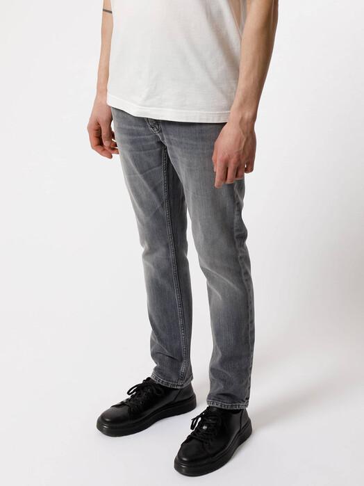 nudie Jeans Jeans Grim Tim [pale grey] jetzt im Onlineshop von zündstoff bestellen
