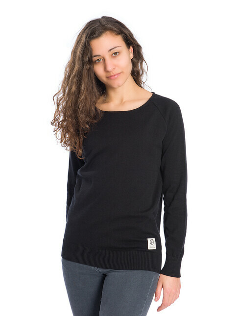 bleed clothing Knitted Jumper [black]