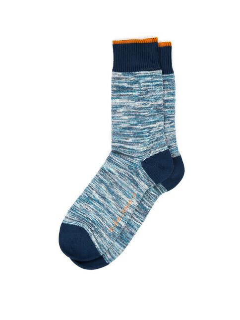 nudie Jeans Rasmusson Multi Yarn Socks [blue]