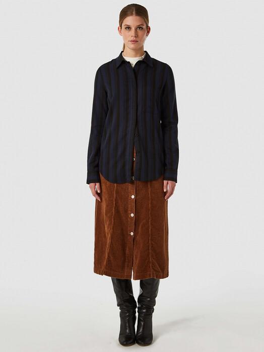 K.O.I. Jeans Blusen Taja [blue blue stripe] jetzt im Onlineshop von zündstoff bestellen
