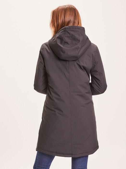 Knowledge Cotton Apparel  Jacken & Mäntel  Jasmine Soft Shell Parka [black jet] jetzt im Onlineshop von zündstoff bestellen