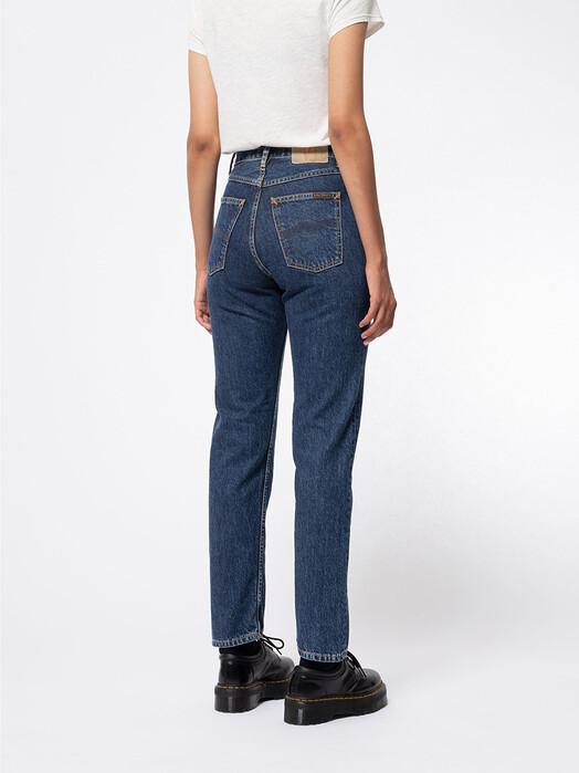 nudie Jeans Jeans Breezy Britt [dark stellar] jetzt im Onlineshop von zündstoff bestellen