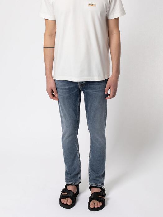 nudie Jeans Jeans Grim Tim [ojai blues] jetzt im Onlineshop von zündstoff bestellen