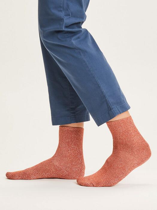 Knowledge Cotton Apparel  Socken  Honey Glitter Socks [arabian spice] jetzt im Onlineshop von zündstoff bestellen