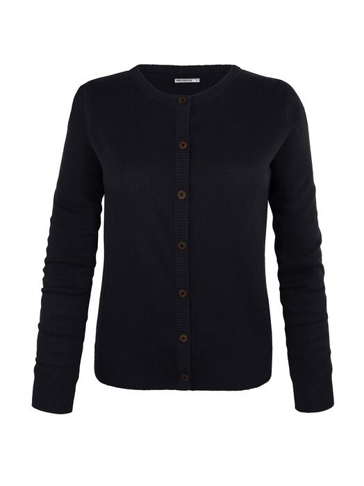 Strickpullover & Cardigans - Cardigan [black] 2