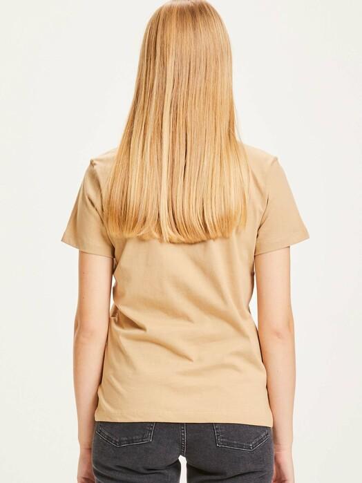 Knowledge Cotton Apparel  T-Shirts Rosa Basic Tee [incense] jetzt im Onlineshop von zündstoff bestellen