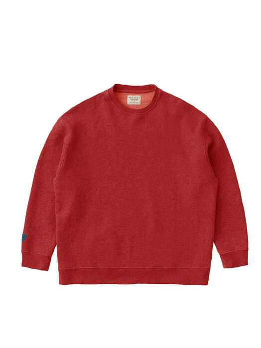 nudie Jeans Sweatshirts Bibbi Blue Heart [chili] jetzt im Onlineshop von zündstoff bestellen