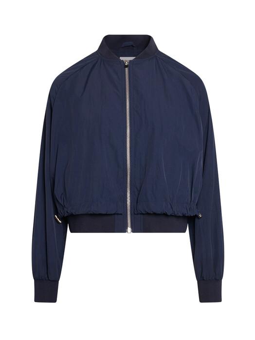 Knowledge Cotton Apparel  Jacken & Mäntel  Dalia Short Bomber Jacket [total eclipse]  S jetzt im Onlineshop von zündstoff bestellen