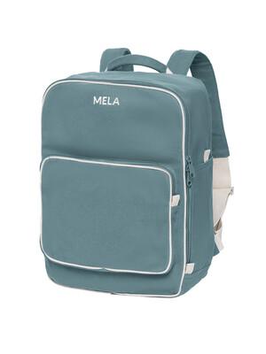 Mela Wear Backpack in Teal aus Biobaumwolle