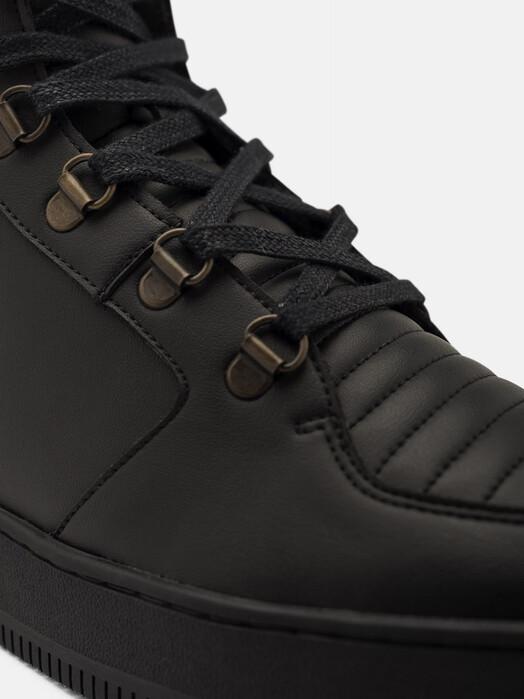 ekn Schuhe Argan High Sutri [all black vegan] jetzt im Onlineshop von zündstoff bestellen