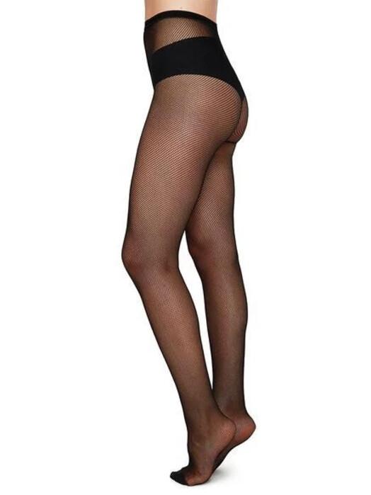 Swedish Stockings Leggings & Strumpfhosen Elvira Net [black] jetzt im Onlineshop von zündstoff bestellen