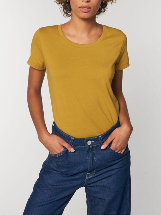 zündstoff.basics T-Shirts Enya [diverse Farben] XS, ochre jetzt im Onlineshop von zündstoff bestellen