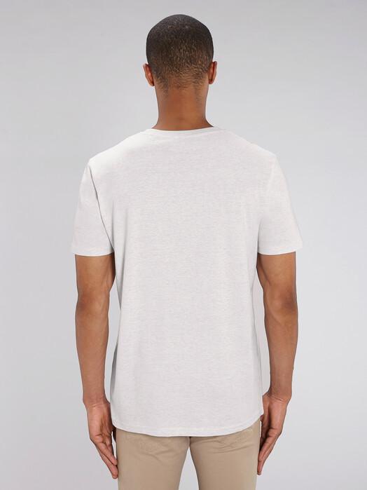 T-Shirts - Claas [diverse Farben] - XL, cream heather grey 4