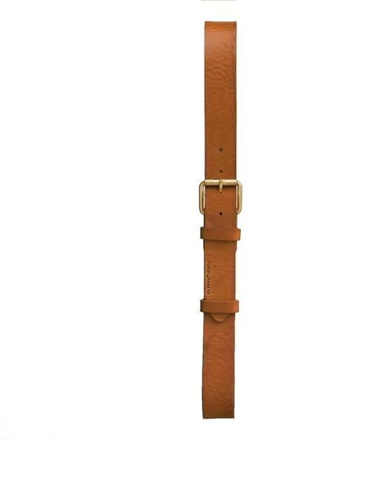 nudie Jeans Gürtel Pedersson Leather Belt [toffee brown] jetzt im Onlineshop von zündstoff bestellen