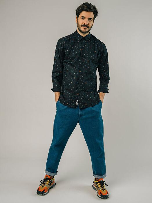 Brava Fabrics Hemden & Polos Roller Shirt [black] jetzt im Onlineshop von zündstoff bestellen