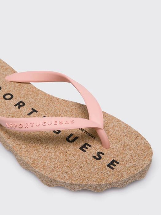 Asportuguesas Schuhe  Base Flip Flop [brown/pink] jetzt im Onlineshop von zündstoff bestellen