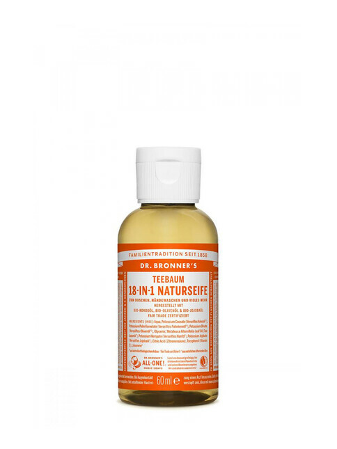 Dr. Bronner's Liquid Soap Teebaum 60ml