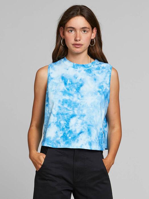 Dedicated Tops Namsos Tie Dye [blue] XS jetzt im Onlineshop von zündstoff bestellen