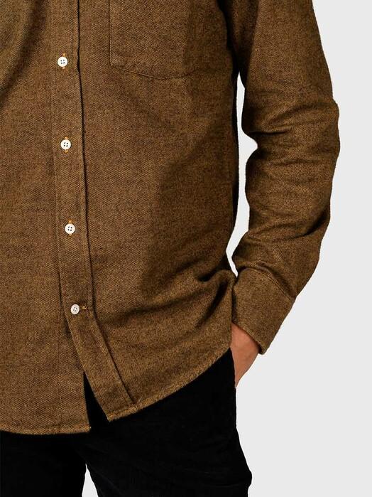 Klitmøller Collective Hemden & Polos Benjamin Lumber [amber] jetzt im Onlineshop von zündstoff bestellen