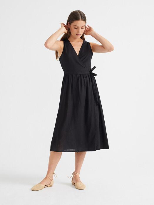 Thinking MU Kleider Amapola Dress [black] M jetzt im Onlineshop von zündstoff bestellen