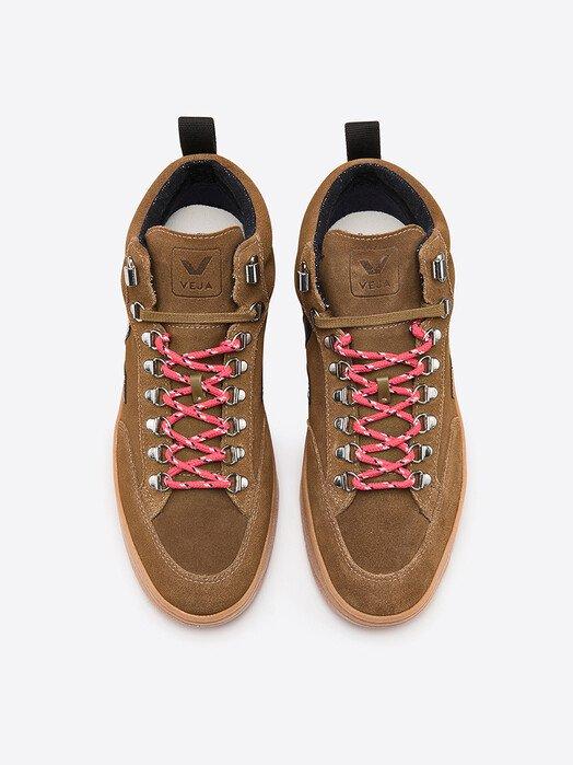 Veja Schuhe Roraima Suede [brown black natural-sole] jetzt im Onlineshop von zündstoff bestellen