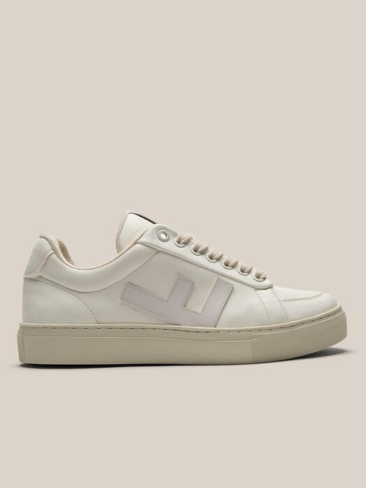 Flamingo's Life Schuhe Classic 70's Kicks [all white/grey] jetzt im Onlineshop von zündstoff bestellen
