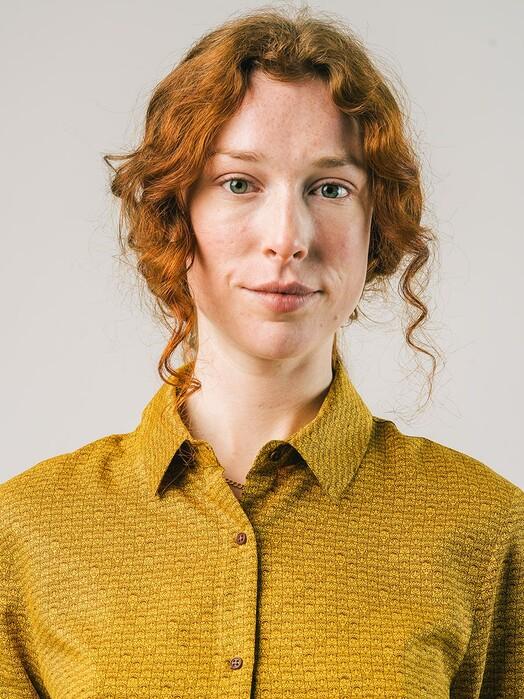 Brava Fabrics Blusen Matrioska Blouse [mustard] jetzt im Onlineshop von zündstoff bestellen