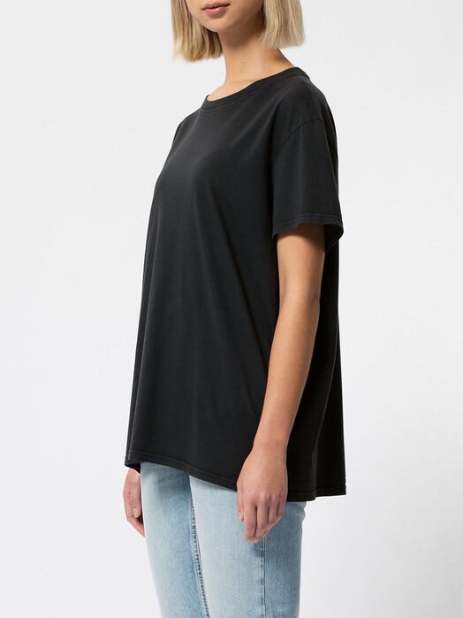 nudie Jeans T-Shirts Tina Oversized Tee [antracite] jetzt im Onlineshop von zündstoff bestellen