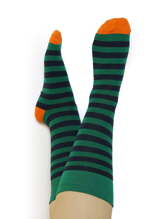 Albero Socken  Socken [grün/dunkelblau/orange] jetzt im Onlineshop von zündstoff bestellen
